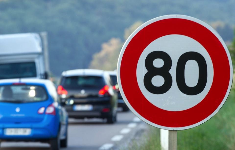 Vitesse à 80km/h : la mesure s'appliquera dès le 1er juillet 2018