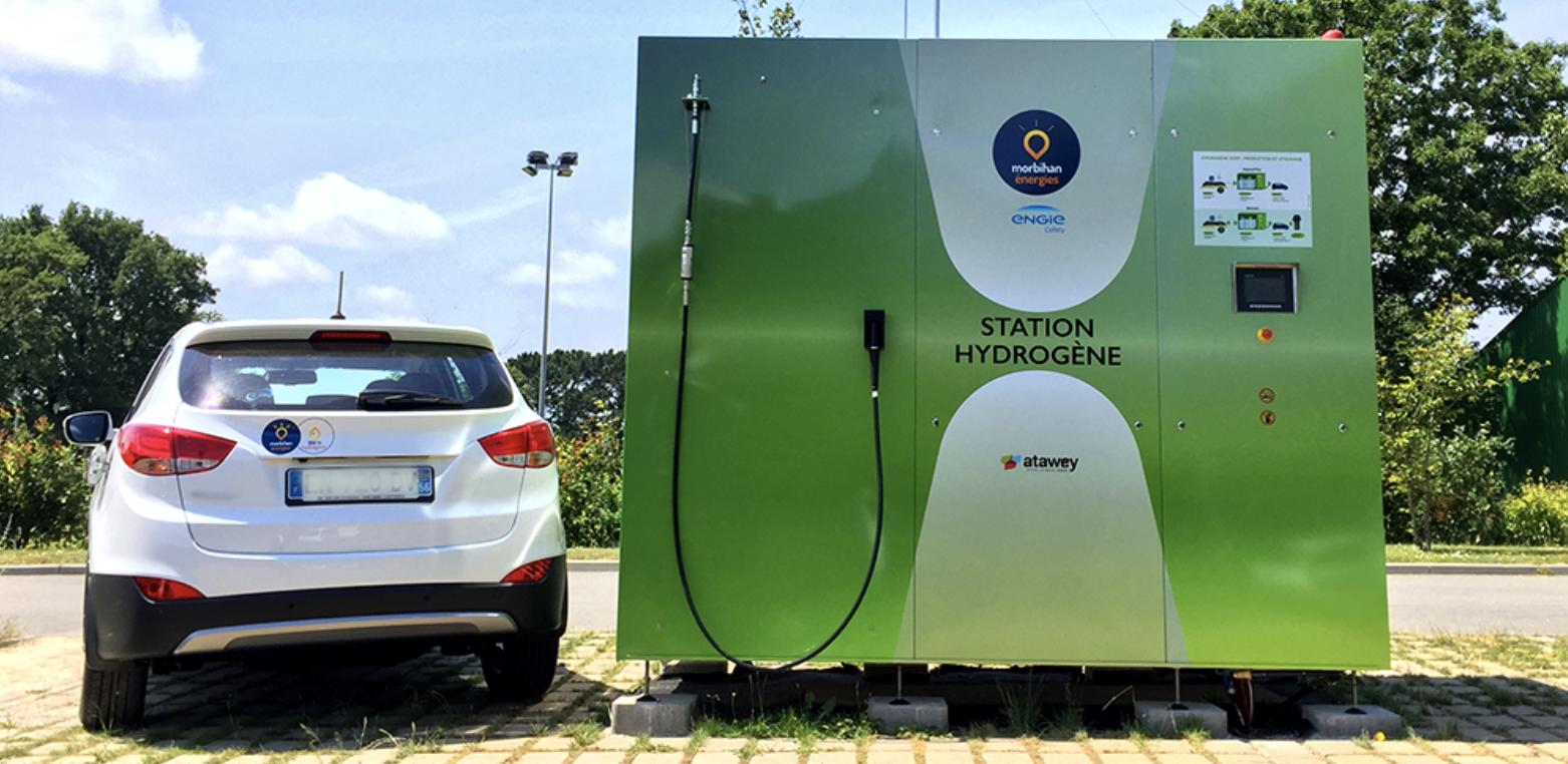 Atawey : des stations de recharge à l'hydrogène