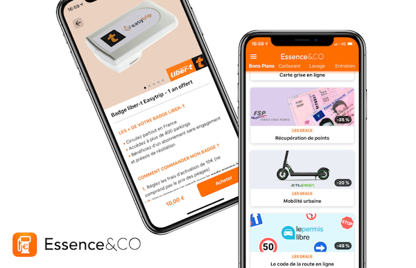 Nouvelle boutique bons plans auto Essence&CO
