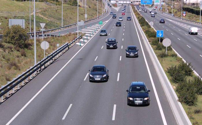 Les embouteillages sur l'autoroute
