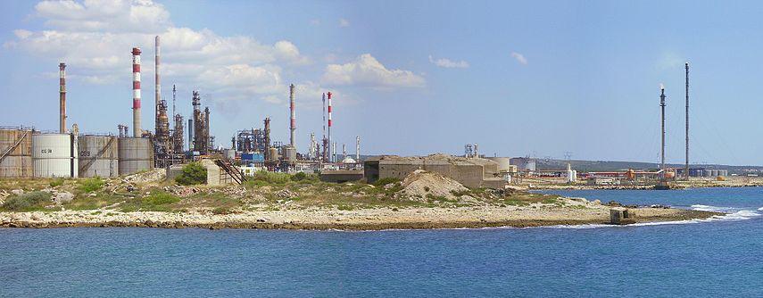 raffinerie de Laverra
